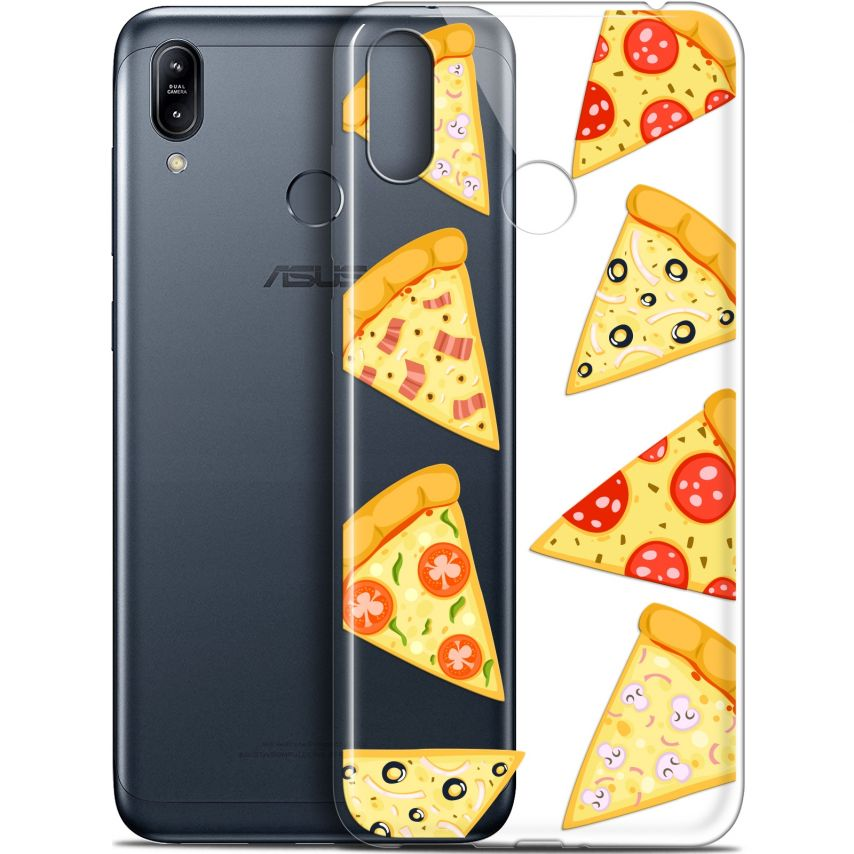 "Carcasa Gel Extra Fina Asus Zenfone Max (M2) ZB633KL (6.3"") Foodie Pizza"