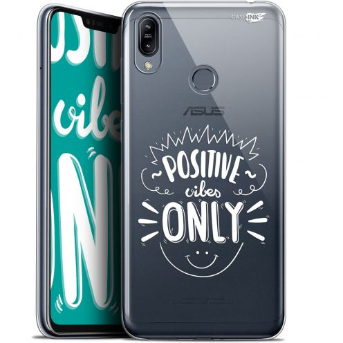 """Carcasa Gel Extra Fina Asus Zenfone Max (M2) ZB633KL (6.3"""") Design Positive Vibes Only"""