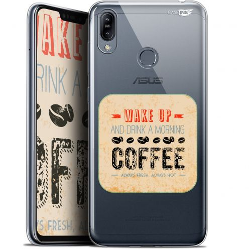 "Carcasa Gel Extra Fina Asus Zenfone Max (M2) ZB633KL (6.3"") Design Wake Up With Coffee"