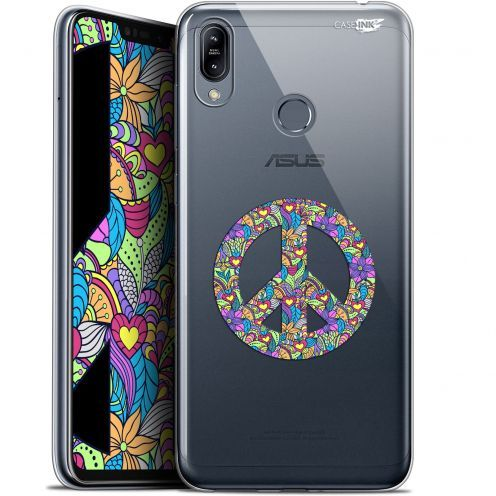 """Carcasa Gel Extra Fina Asus Zenfone Max (M2) ZB633KL (6.3"""") Design Peace And Love"""
