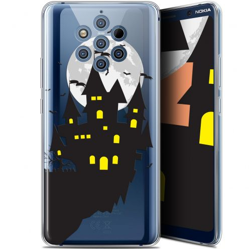 "Carcasa Gel Extra Fina Nokia 9 PureView (6"") Halloween Castle Dream"