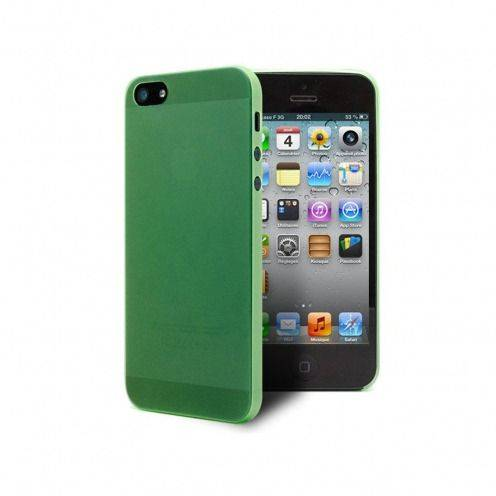 Shell Ultra fino 0.3mm Frost iPhone 5 verde