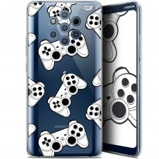 "Carcasa Gel Extra Fina Nokia 9 PureView (6"") Design Game Play Joysticks"