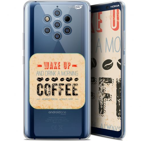 "Carcasa Gel Extra Fina Nokia 9 PureView (6"") Design Wake Up With Coffee"