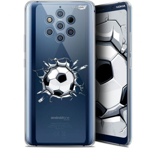 "Carcasa Gel Extra Fina Nokia 9 PureView (6"") Design Le Balon de Foot"