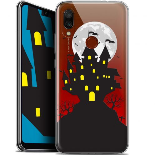 "Carcasa Gel Extra Fina Xiaomi Redmi 7 (6.26"") Halloween Castle Scream"