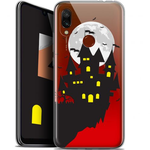 "Carcasa Gel Extra Fina Xiaomi Redmi 7 (6.26"") Halloween Castle Dream"