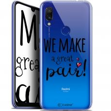 "Carcasa Gel Extra Fina Xiaomi Redmi 7 (6.26"") Love We Make Great Pair"