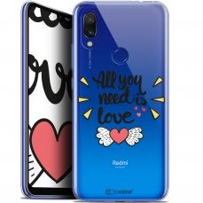 "Carcasa Gel Extra Fina Xiaomi Redmi 7 (6.26"") Love All U Need Is"
