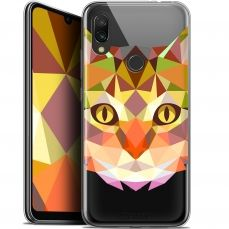 "Carcasa Gel Extra Fina Xiaomi Redmi 7 (6.26"") Polygon Animals Gato"