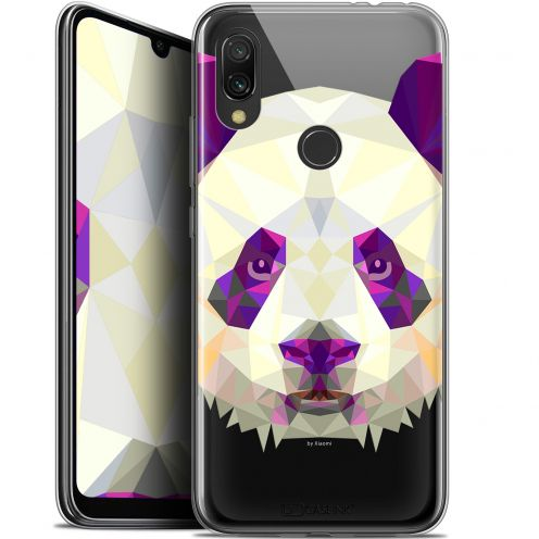 "Carcasa Gel Extra Fina Xiaomi Redmi 7 (6.26"") Polygon Animals Panda"