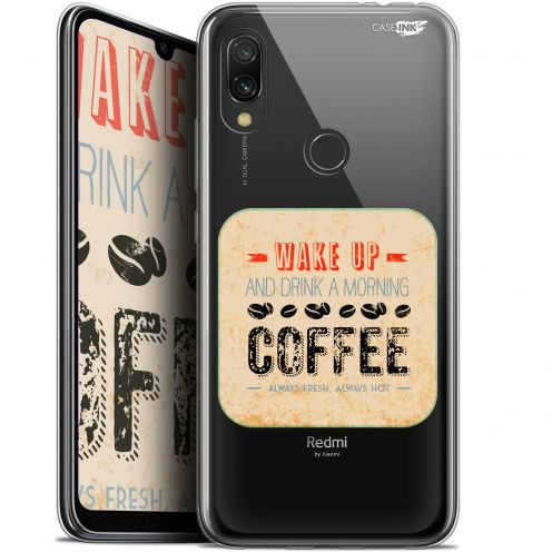 "Carcasa Gel Extra Fina Xiaomi Redmi 7 (6.26"") Design Wake Up With Coffee"
