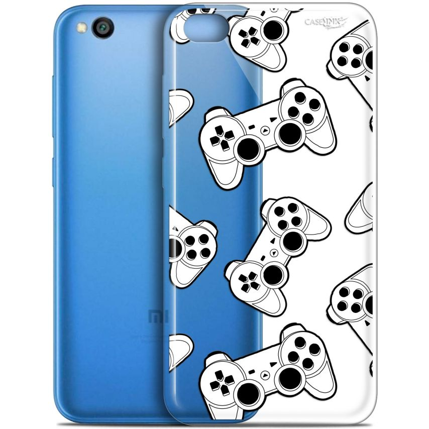 "Carcasa Gel Extra Fina Xiaomi Redmi Go (5"") Design Game Play Joysticks"