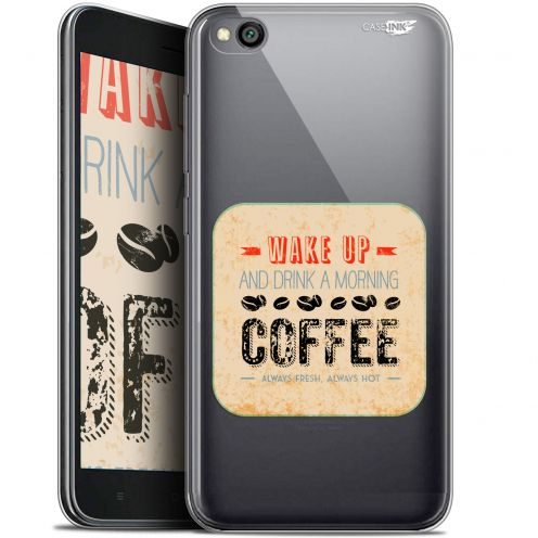 "Carcasa Gel Extra Fina Xiaomi Redmi Go (5"") Design Wake Up With Coffee"