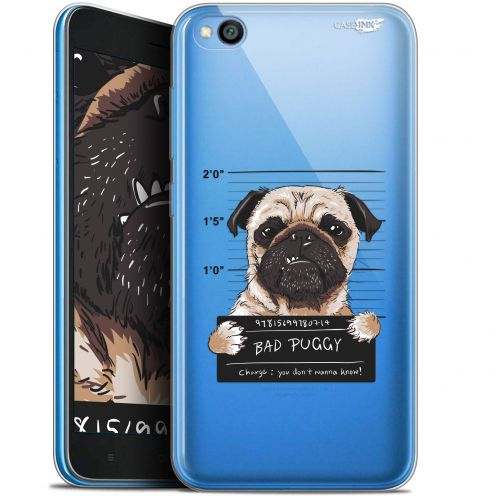 "Carcasa Gel Extra Fina Xiaomi Redmi Go (5"") Design Beware The Puggy Dog"