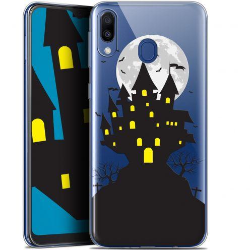 "Carcasa Gel Extra Fina Samsung Galaxy M20 (6.3"") Halloween Castle Scream"