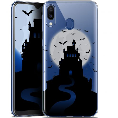 "Carcasa Gel Extra Fina Samsung Galaxy M20 (6.3"") Halloween Castle Nightmare"