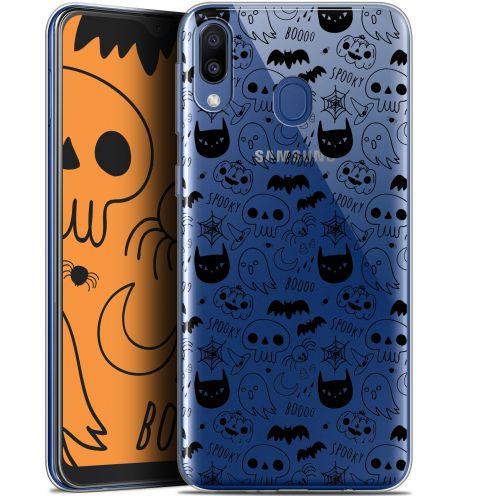 "Carcasa Gel Extra Fina Samsung Galaxy M20 (6.3"") Halloween Spooky"