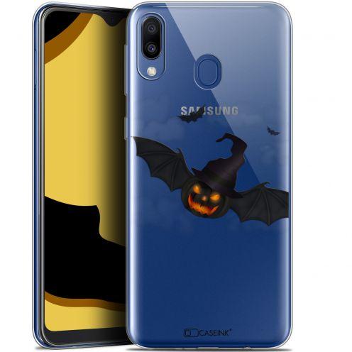 "Carcasa Gel Extra Fina Samsung Galaxy M20 (6.3"") Halloween Chauve Citrouille"