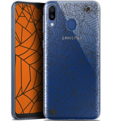 "Carcasa Gel Extra Fina Samsung Galaxy M20 (6.3"") Halloween Spooky Spider"