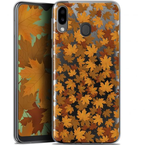 "Carcasa Gel Extra Fina Samsung Galaxy M20 (6.3"") Autumn 16 Feuilles"