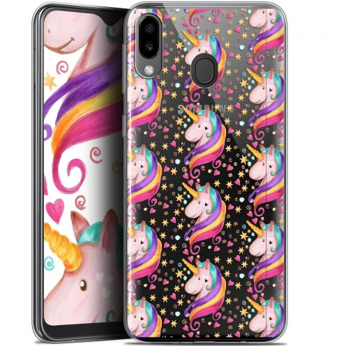 "Carcasa Gel Extra Fina Samsung Galaxy M20 (6.3"") Fantasia Licorne Etoilée"