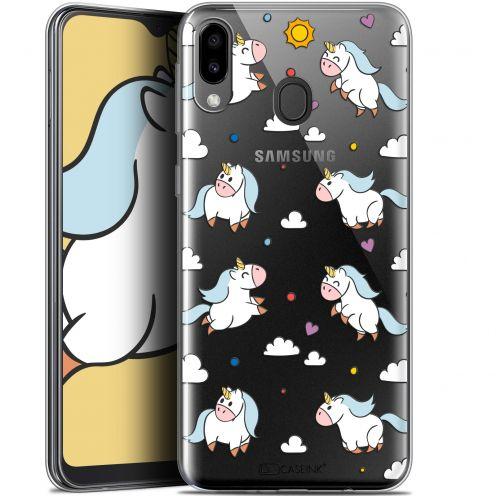 "Carcasa Gel Extra Fina Samsung Galaxy M20 (6.3"") Fantasia Licorne In the Sky"