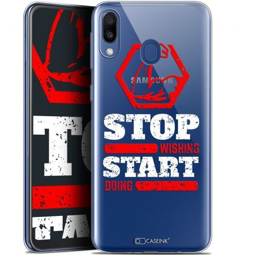 "Carcasa Gel Extra Fina Samsung Galaxy M20 (6.3"") Quote Start Doing"