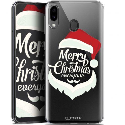 "Carcasa Gel Extra Fina Samsung Galaxy M20 (6.3"") Noël 2017 Merry Everyone"