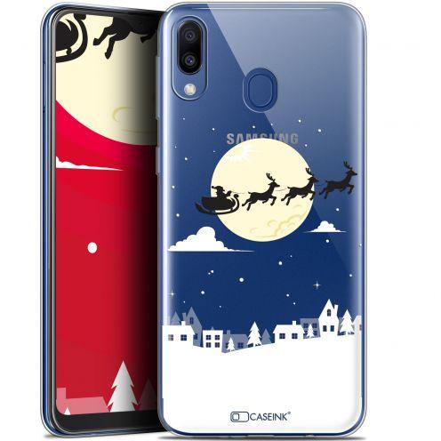 """Carcasa Gel Extra Fina Samsung Galaxy M20 (6.3"""") Noël 2017 Flying Stanta"""
