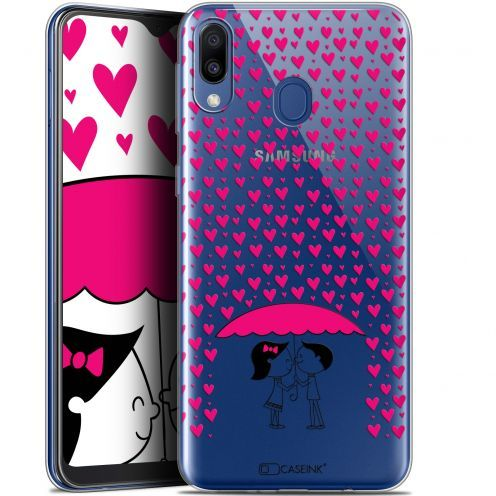 "Carcasa Gel Extra Fina Samsung Galaxy M20 (6.3"") Love Pluie d'Amour"