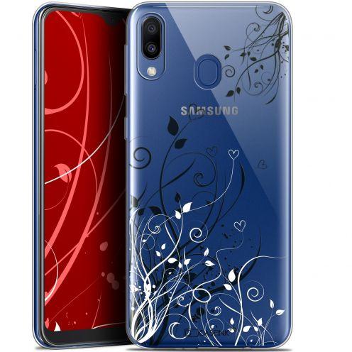 "Carcasa Gel Extra Fina Samsung Galaxy M20 (6.3"") Love Hearts Flowers"