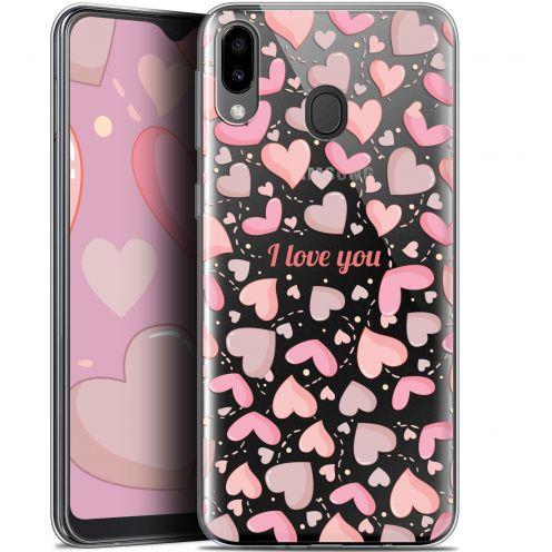 "Carcasa Gel Extra Fina Samsung Galaxy M20 (6.3"") Love I Love You"