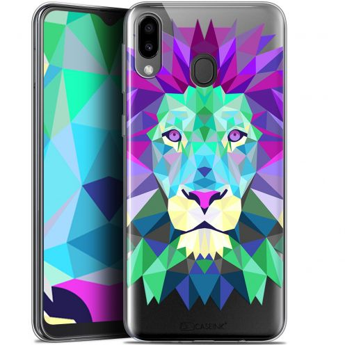 "Carcasa Gel Extra Fina Samsung Galaxy M20 (6.3"") Polygon Animals León"