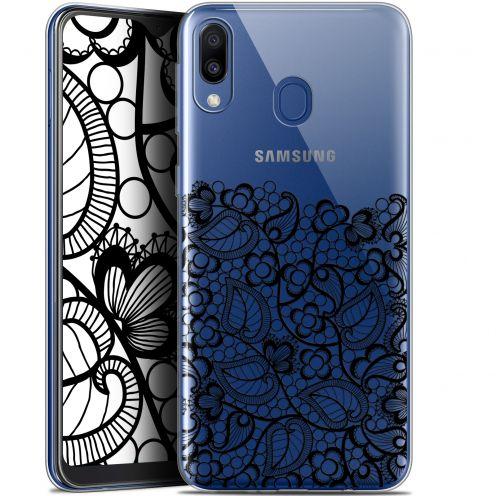 "Carcasa Gel Extra Fina Samsung Galaxy M20 (6.3"") Spring Bas dentelle Noir"