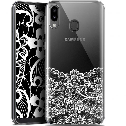 "Carcasa Gel Extra Fina Samsung Galaxy M20 (6.3"") Spring Bas dentelle"