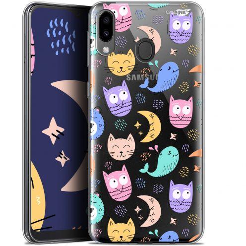 "Carcasa Gel Extra Fina Samsung Galaxy M20 (6.3"") Design Chat Hibou"