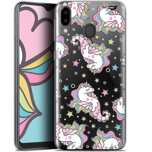 "Carcasa Gel Extra Fina Samsung Galaxy M20 (6.3"") Design Licorne Dormante"