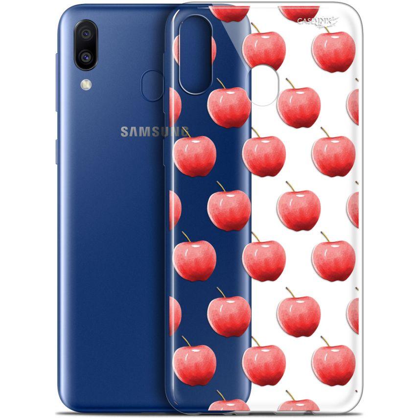 "Carcasa Gel Extra Fina Samsung Galaxy M20 (6.3"") Design Cerises"