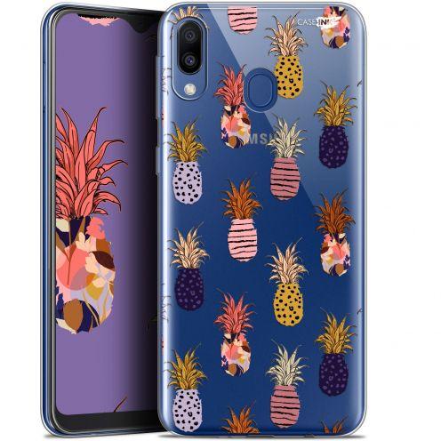 "Carcasa Gel Extra Fina Samsung Galaxy M20 (6.3"") Design Ananas Gold"