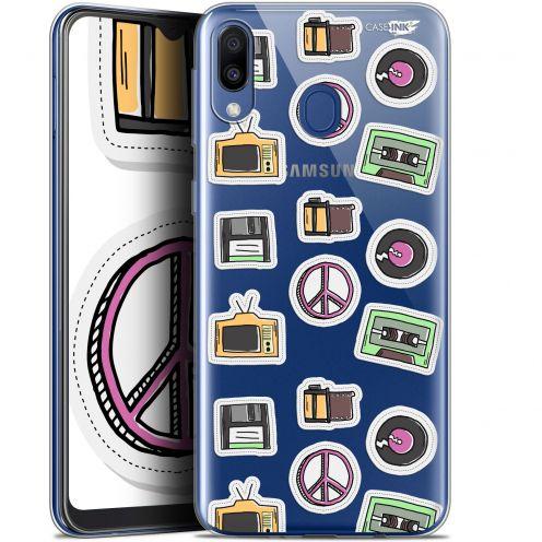 "Carcasa Gel Extra Fina Samsung Galaxy M20 (6.3"") Design Vintage Stickers"