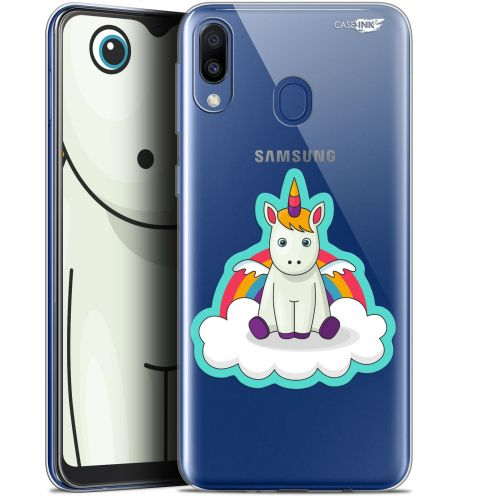 """Carcasa Gel Extra Fina Samsung Galaxy M20 (6.3"""") Design Bébé Licorne"""