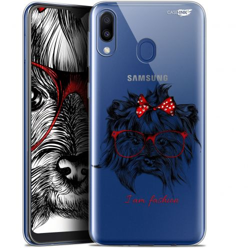 "Carcasa Gel Extra Fina Samsung Galaxy M20 (6.3"") Design Fashion Dog"