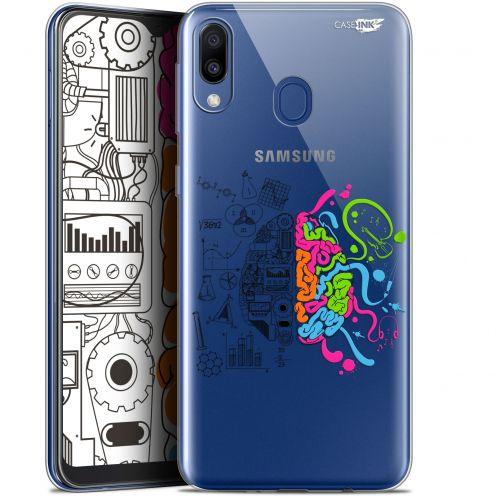 "Carcasa Gel Extra Fina Samsung Galaxy M20 (6.3"") Design Le Cerveau"