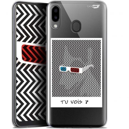 "Carcasa Gel Extra Fina Samsung Galaxy M20 (6.3"") Design Tu Vois ce que Je Vois ?"