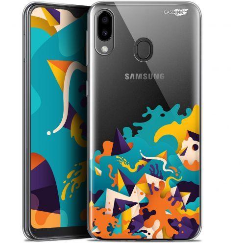 "Carcasa Gel Extra Fina Samsung Galaxy M20 (6.3"") Design Les Vagues"