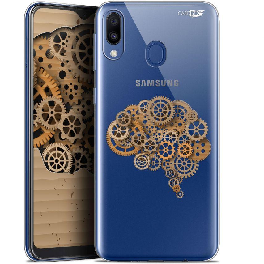 "Carcasa Gel Extra Fina Samsung Galaxy M20 (6.3"") Design Mécanismes du Cerveau"