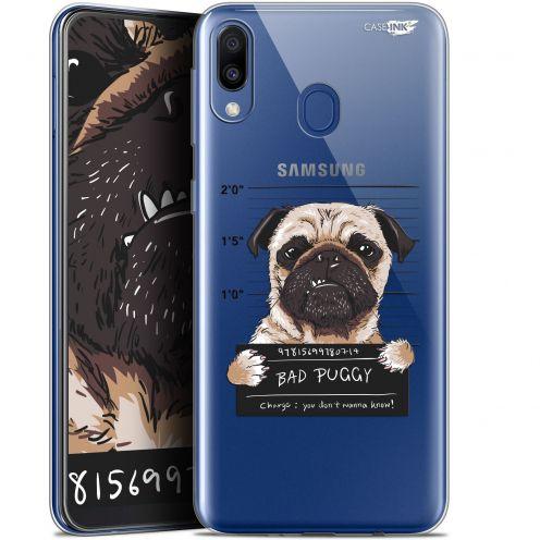 "Carcasa Gel Extra Fina Samsung Galaxy M20 (6.3"") Design Beware The Puggy Dog"