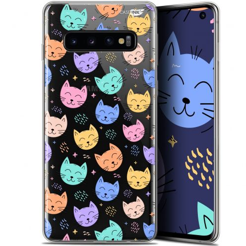 "Carcasa Gel Extra Fina Samsung Galaxy S10 (6.1"") Design Chat Dormant"