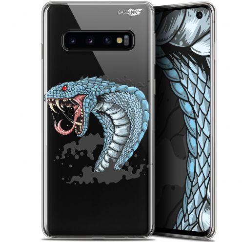 "Carcasa Gel Extra Fina Samsung Galaxy S10 (6.1"") Design Cobra Draw"